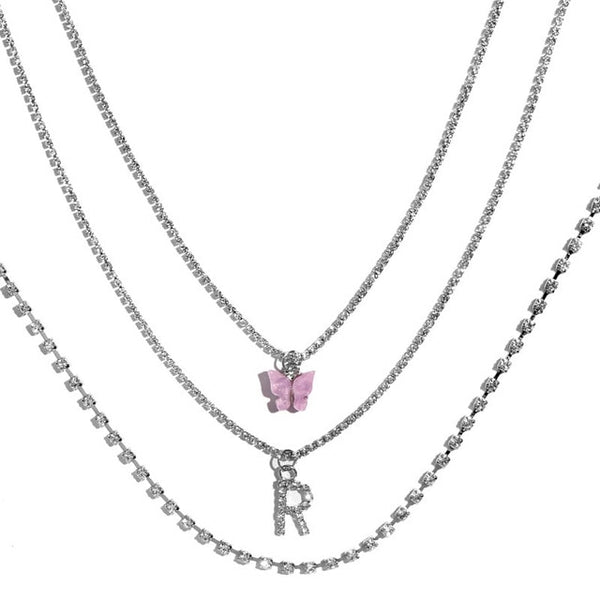 Multilayer Butterfly Necklaces For Women - ALFSIXTYONE