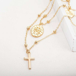 Goddess Catholic Choker Necklace  For Women - ALFSIXTYONE