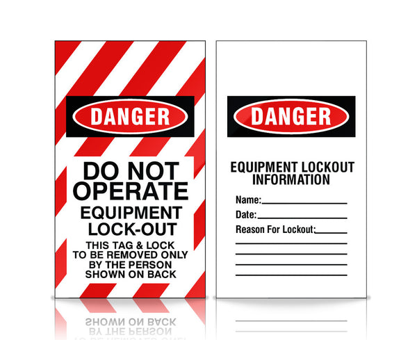 Do Not Operate Equipment Lock-Out - RV0397 - (3.5 x 6) - OSHA