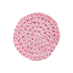 Pink Reusable Makeup Pads - Carys The World Bamboo Bottle Brush
