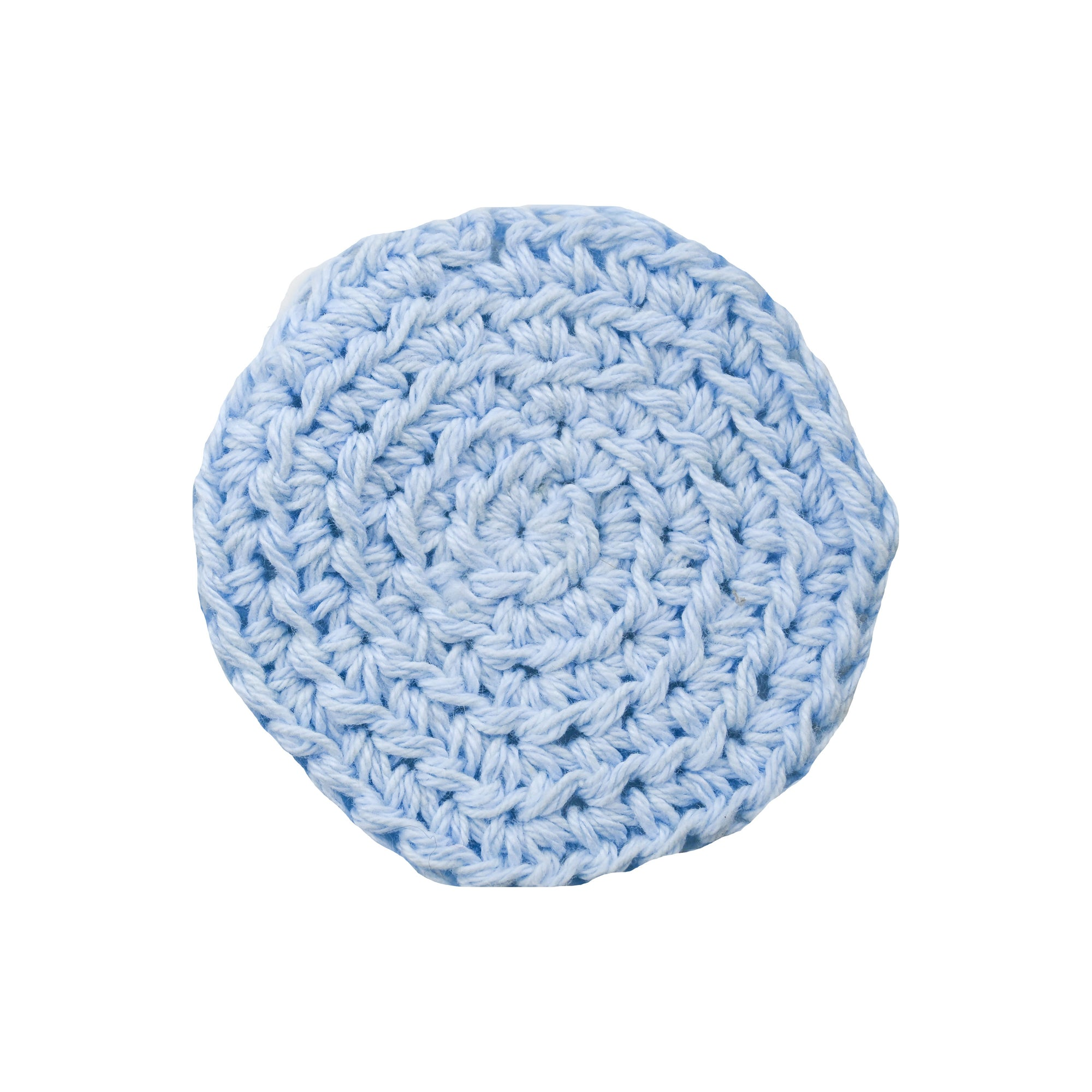 Blue Reusable Makeup Pads - Carys The World Bamboo Bottle Brush