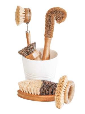 Eco Brush Set - Carys The World Bamboo Bottle Brush