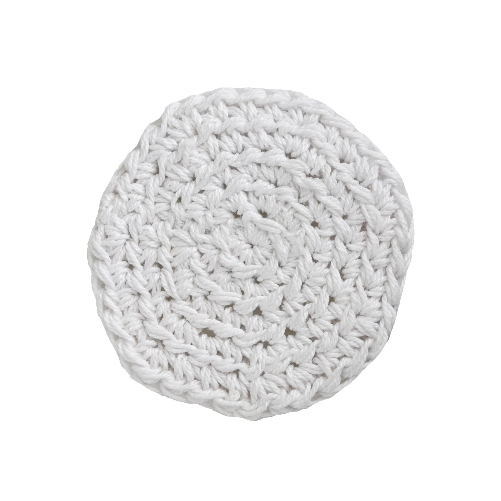 White Reusable Makeup Pads - Carys The World Bamboo Bottle Brush