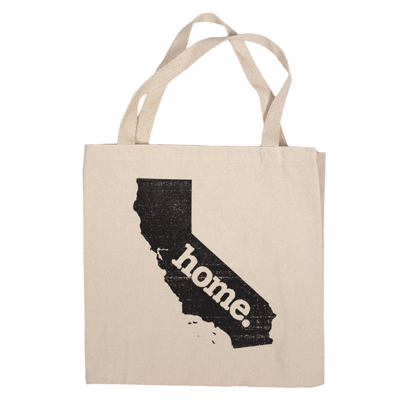 Canvas Tote Bag - California
