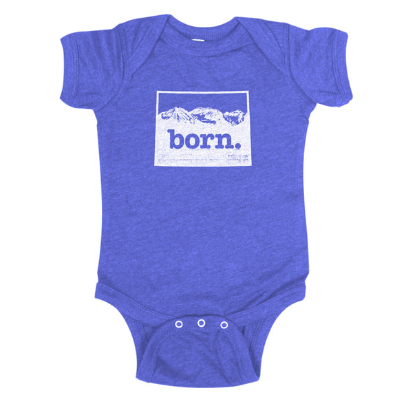 born. Baby Bodysuit - Colorado