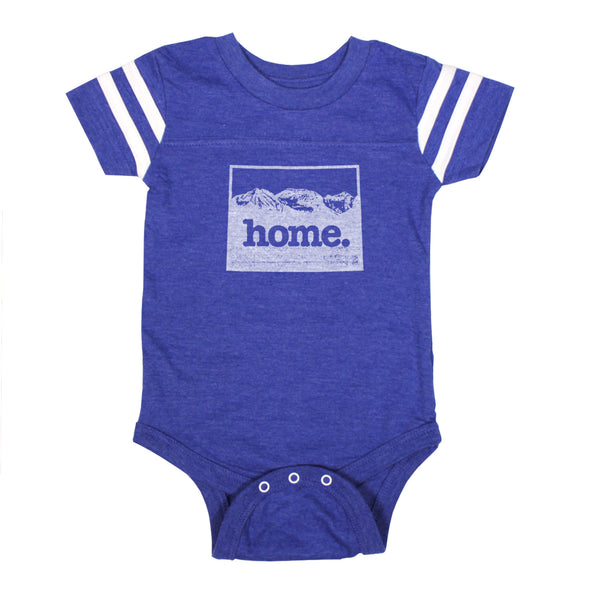 home. Football Baby Bodysuit - Colorado