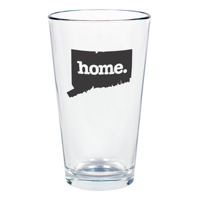 home. Pint Glass - Connecticut