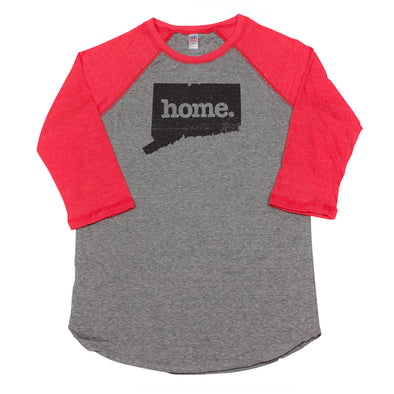 home. Men's Unisex Raglan - Connecticut
