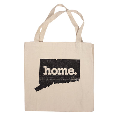 Canvas Tote Bag - Connecticut