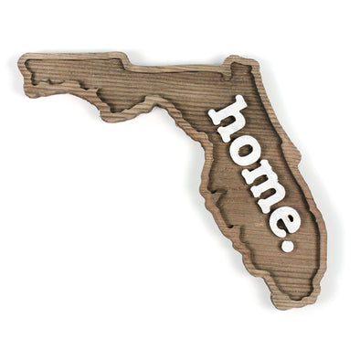 home. Wooden Plaques - Florida