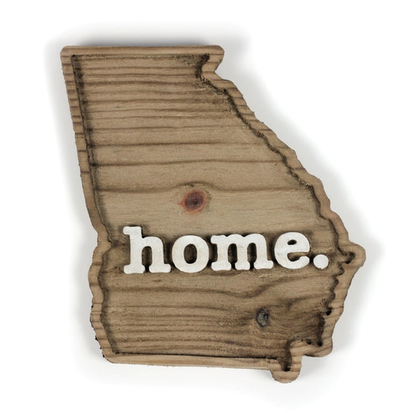 home. Wooden Plaques - Georgia
