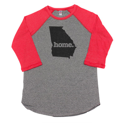 home. Men's Unisex Raglan - Georgia