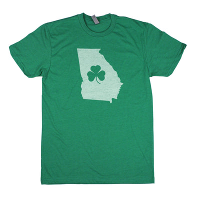 Shamrock Men's Unisex T-Shirt - Georgia