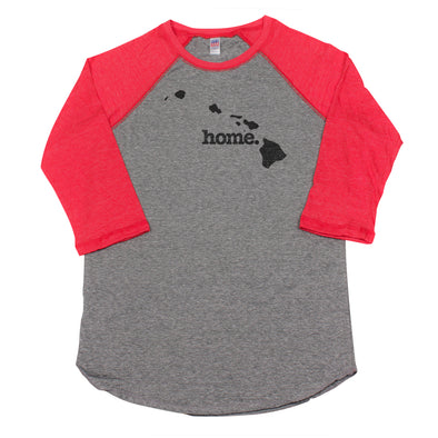 home. Men's Unisex Raglan - Hawaii