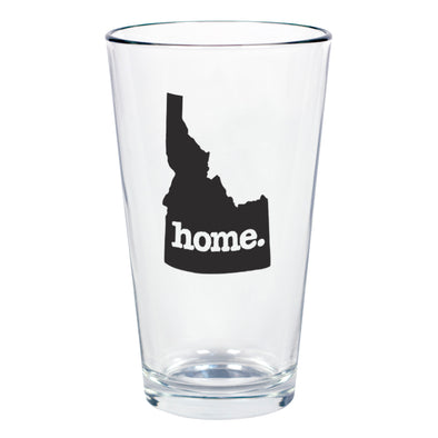 home. Pint Glass - Idaho