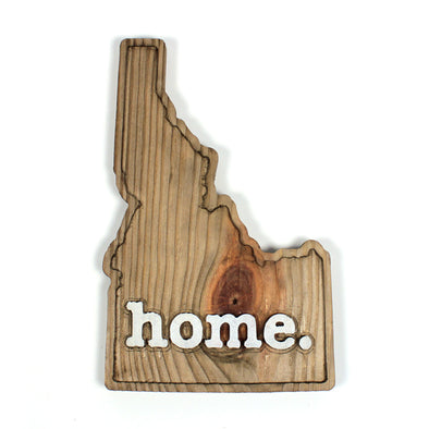 home. Wooden Plaques - Idaho