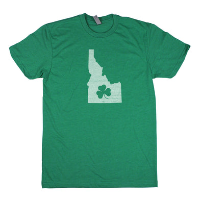 Shamrock Men's Unisex T-Shirt - Idaho