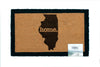 home. Door Mats - (10 Pack) Illinois