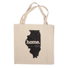 Canvas Tote Bag - Illinois