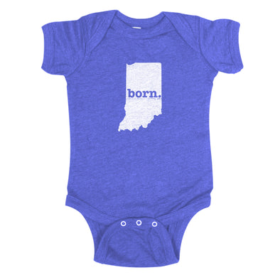 born. Baby Bodysuit - Indiana
