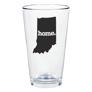 home. Pint Glass - Indiana