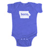 born. Baby Bodysuit - Iowa