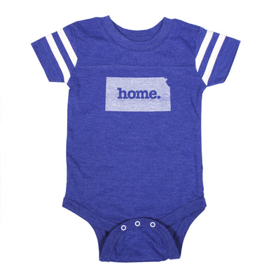 home. Football Baby Bodysuit - Kansas
