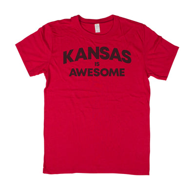 … Is Awesome Men's Unisex T-Shirt - Kansas
