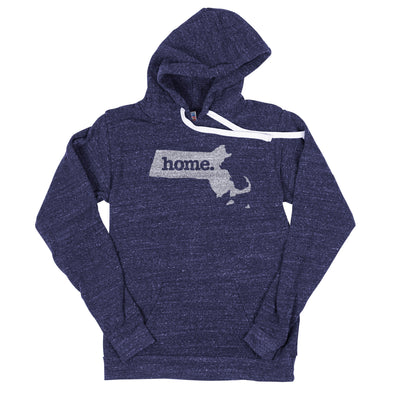home. Men's Unisex Hoodie - Massachusetts