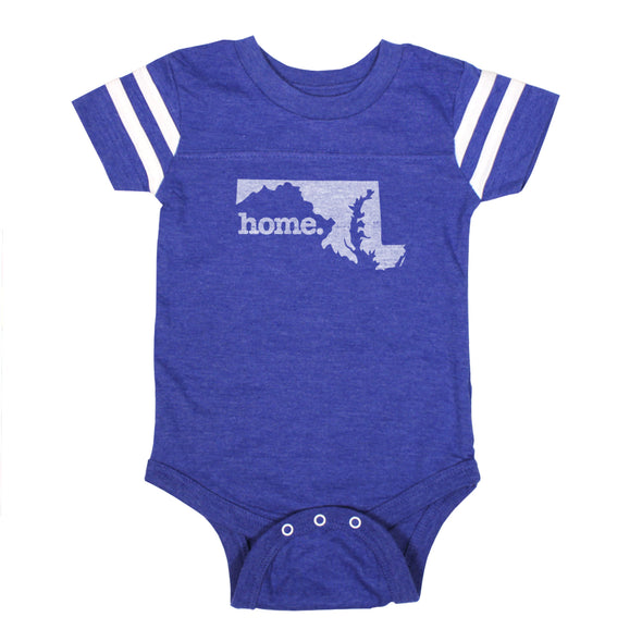 home. Football Baby Bodysuit - Maryland