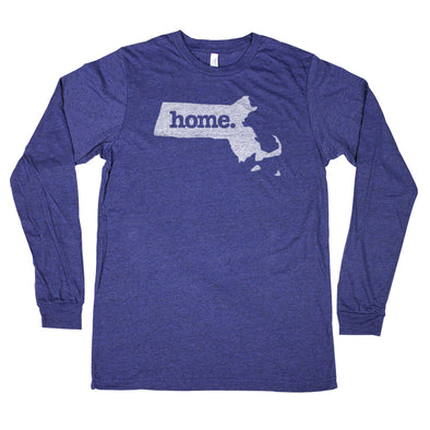 home. Unisex Longsleeve T-Shirt - Massachusetts