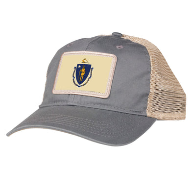 State Flag Hat - Massachusetts