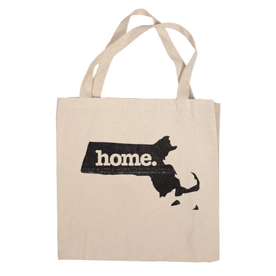 Canvas Tote Bag - Massachusetts