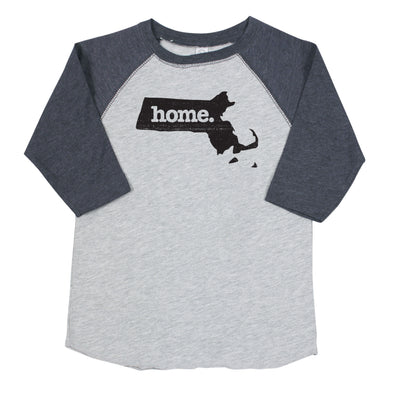 home. Youth/Toddler Raglans - Massachusetts