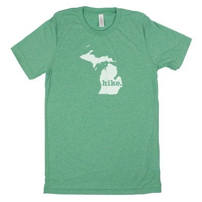 hike. Men's Unisex T-Shirt - Michigan