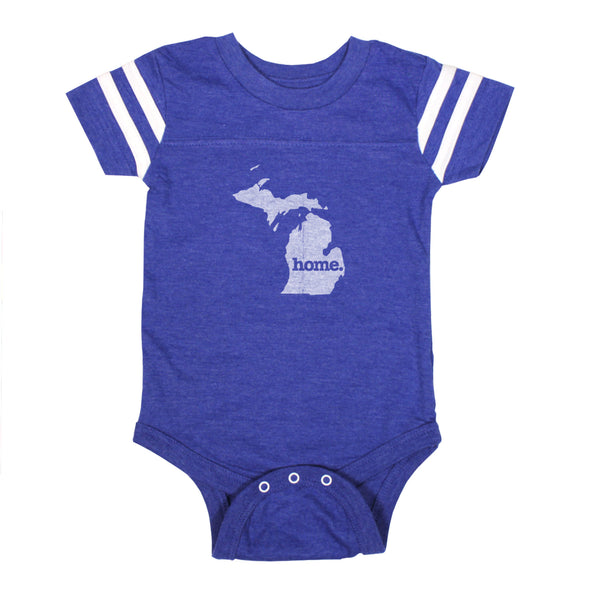 home. Football Baby Bodysuit - Michigan