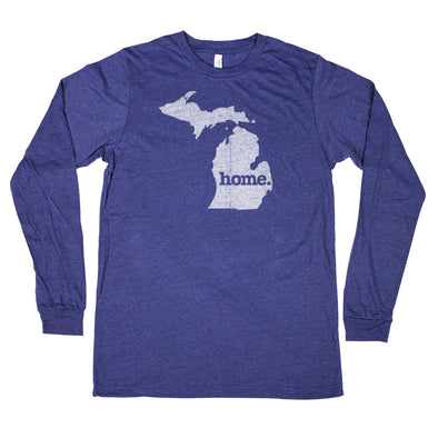 home. Unisex Longsleeve T-Shirt - Michigan