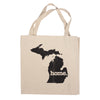 Canvas Tote Bag - Michigan