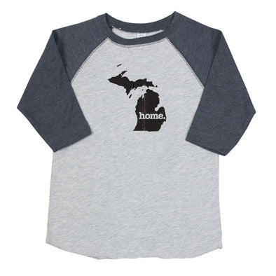 home. Youth/Toddler Raglans - michigan