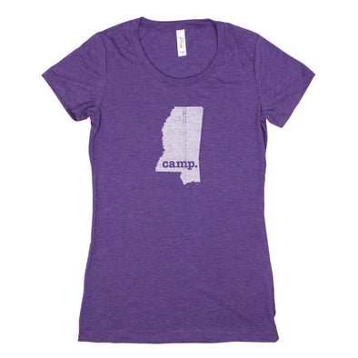 camp. Women's T-Shirt - Mississippi