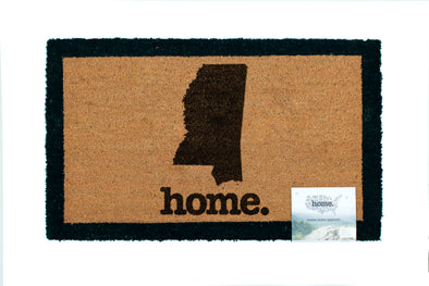 home. Door Mats - (10 Pack) Mississippi