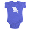 born. Baby Bodysuit - Missouri