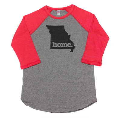 home. Men's Unisex Raglan - Missouri