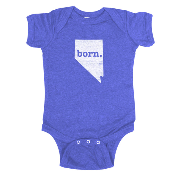 born. Baby Bodysuit - Nevada