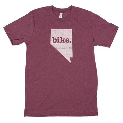 bike. Men's Unisex T-Shirt - Nevada