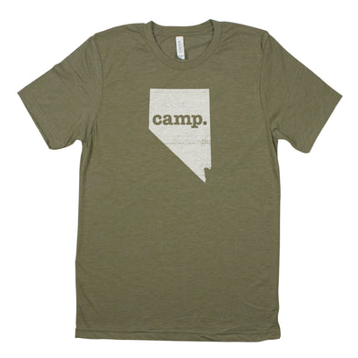camp. Men's Unisex T-Shirt - Nevada