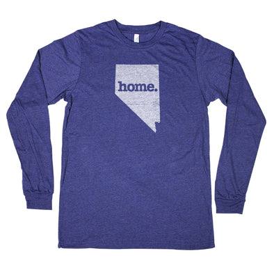 home. Unisex Longsleeve T-Shirt - Nevada