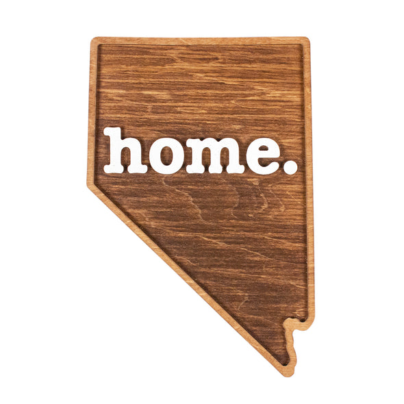 home. Wooden Plaques - Nevada