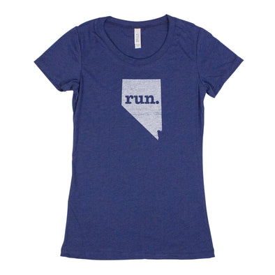 run. Women's T-Shirt - Nevada