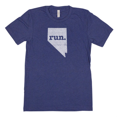 run. Men's Unisex T-Shirt - Nevada